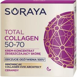Soraya Total Collagen 50-70 // Krem-Koncentrat zageszczajacy skore na noc // Odczucie odzywienia 100%