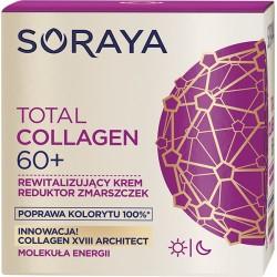 Soraya Total Collagen 60+ // Rewitalizujacy krem reduktor zmarszczek na dzien i noc // Poprawa kolorytu 100%