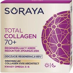 Soraya Total Collagen 70+ // Regenerujacy krem reduktor zmarszczek na dzien i noc // Kwasy omega 3 i 6