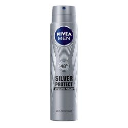 NIVEA MEN anti-transpirant SILVER PROTECT Dynamic Power // Anti-bacterial protection // 24h