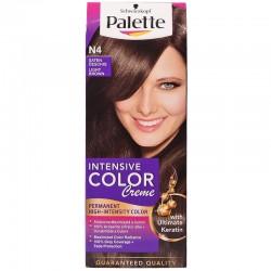 PALETTE INTENSIVE COLOR N4 Jasny Braz // dlugotrwala intensywnosc koloru i 100 % pokrycia siwych wlosow