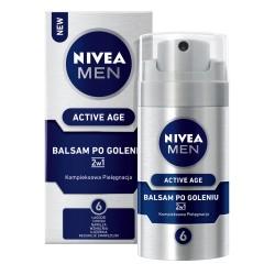 Nivea Men /Active age / BALSAM PO GOLENIU 2w1 / Kompleksowa pielegnacja / Lagodzi,chroni,nawilza,wzmacnia,ujedrnia