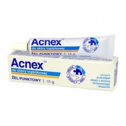 ACNEX Zel punktowy do skory tradzikowej