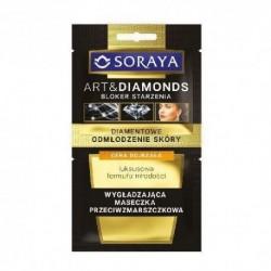 Soraya Art&Diamonds Bloker starzenia // Wygladzajaca maseczka przeciwzmarszczkowa / Cera dojrzala