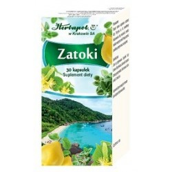 ZATOKI 30 kapsulek // Suplement diety // Herbapol