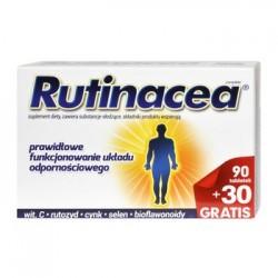 RUTINACEA // Prawidlowe funkcjonowanie ukladu odpornosciowego / Wit. C, rutozyd, cynk,selen, bioflawonoidy