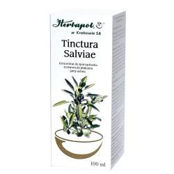 Tinctura Salviae SZALWIA // Koncentrat do sporzadzania roztworu do plukania jamy ustnej // 100 ml