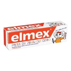 ELMEX-Pasta do zebow dla dzieci od 1 zabka do 6 lat / Specjalna ochrona zebow mlecznych przed prochnica z aminofluorkiem