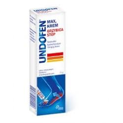 UNDOFEN MAX Krem //Grzybica stop // Lek o miejscowym dzialaniu przeciwgrzybicznym