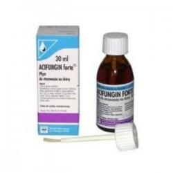 ACIFUNGIN FORTE 30ml // Plyn na skore, waly okolopaznokciowe i paznokcie / Stosowany w chorobach grzybicznych