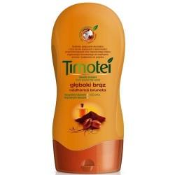 TIMOTEI Gleboki braz ODZYWKA // Wszystkie odcienie brazowych wlosow // 100% naturalne ekstrakty