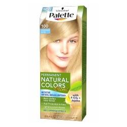 PALETTE NATURAL COLORS Skandynawski blond 100 / With 4 Oils+Jojoba / Ochrona i pielegnacja, rozjasnianie do 4-6 tonow