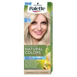 PALETTE NATURAL COLORS Popielaty blond 219 // With Argan oil // Efekt koloryzacji pelen refleksow, rozjanianie do 2-4 tonow