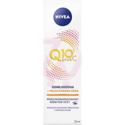 Nivea Q10 plus C // Przeciwzmarszczkowy krem pod oczy // Odmlodzona + pelna energii cera // 15ml