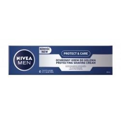 NIVEA MEN Ochronny krem do golenia Protect & Care // Komfortowe golenie i ochrona skory // zawiera aloes