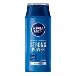 NIVEA MEN STRONG POWER Pielegnujacy Szampon wzmacniajacy // Morskie mineraly // 250 ml