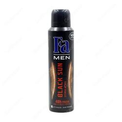 FA Deod. for men BLACK SUN 150ml