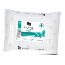 AA Intymna // Odswiezajace chusteczki do higieny intymnej FRESH // Swiezosc i nawilzenie