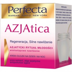 PERFECTA AZJAtica Krem- olejek na dzien  i na noc// Regeneracja, Silne nawilzenie// Azjatycki rytual mlodosci