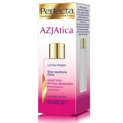 PERFECTA AZJAtica Lotion-Primer Silne nawilzenie, Detox na dzien i na noc// Azjatycki rytual mlodosci
