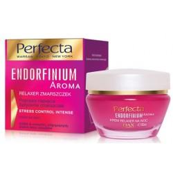 Perfecta ENDORFINIUM AROMA// Relaxer zmarszczek, krem na noc// Poprawa napiecia Splycenie zmarszczek
