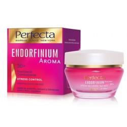 Perfecta ENDORFINIUM AROMA// +30 Nawilzenie Odmlodzenie// Krem na dzien i na noc//STRESS CONTROL INTENSE