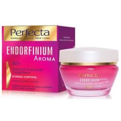 Perfecta ENDORFINIUM AROMA// 40+ Redukcja zmarszczek Wygladzenie//  Krem na dzien i na noc//STRESS CONTROL INTENSE
