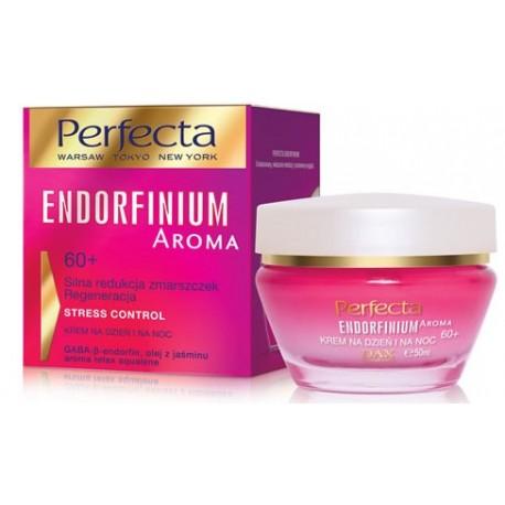 Perfecta ENDORFINIUM AROMA// 60+ Silna redukcja zmarszczek Regeneracja//  Krem na dzien i na noc//STRESS CONTROL