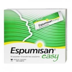 ESPUMISAN Easy// Przeciw wzdeciom //  14 saszetek, granulki bez popijania