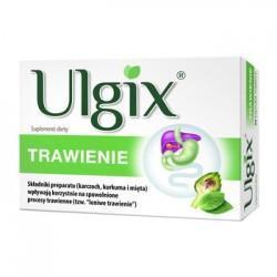 ULGIX Trawienie 15 kaps. // Wplywa korzystnie na spowolnione procesy trawienne