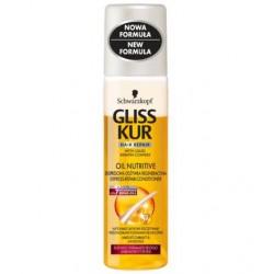 GLISS KUR Oil Nutritive Expresowa Odzywka Regeneracyjna // Wlosy podatne na rozdwajanie