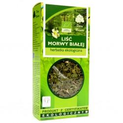 Lisc MORWY BIALEJ herbatka ekologiczna// Dary Natury