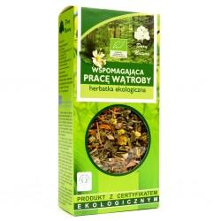 Wspomagajaca PRACE WATROBY herbatka ekologiczna// Dary Natury