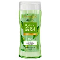 Bielenda Zielona Herbata /Hydrolat Zielona Herbata 3w1 /Tonizuje,normalizuje,nawilza /cera mieszana /formula bezalkoholowa