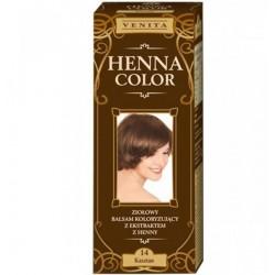 VENITA HENNA COLOR// Ziolowy balsam koloryzujacy // KASZTAN 14