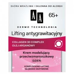 AA Lifting Antygrawitacyjny 65+ // Krem modelujacy przeciwzmarszczkowy / Dzien