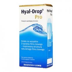 Hyal-Drop Pro- Krople do oczu// Dziala na wszystkie 3 warstwy filmu lzowego// Krople nawilzajace do oczu
