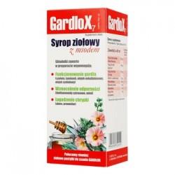 GARDLOX Syrop ziolowy z miodem / Wspomaga funkcjonowanie gardla, odpornosc, lagodzi chrypke