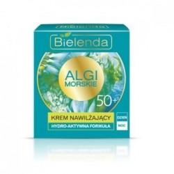Bielenda ALGI MORSKIE // KREM NAWILZAJACY 50+ // Hydro-aktywna formula, dzien/noc