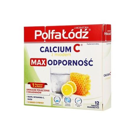 CALCIUM C Z MIODEM// MAX odpornosc o smaku cytryny// Wapn, Witamina C, miod