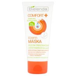 Bielenda Comfort + // Krem maska do stop, przeciw zrogowaceniom z efektem eksfoliujacym