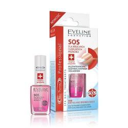 EVELINE SOS dla kruchych i lamliwych paznokci // Multiwitaminowa odzywka z wapniem i kolagenem
