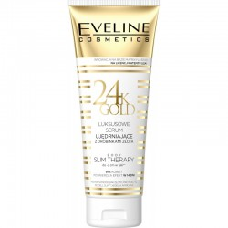 Eveline 24k Gold // Luksusowe serum ujedrniajace z drobinkami zlota // Body slim therapy do -2 cm w talii