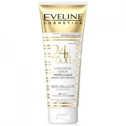 Eveline 24k Gold // Luksusowe serum modelujace brzuch, uda i posladki // Anti-Cellulite shaping expert