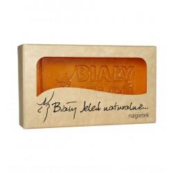 BIALY JELEN Hipoalergiczne Naturalne mydlo NAGIETKOWE