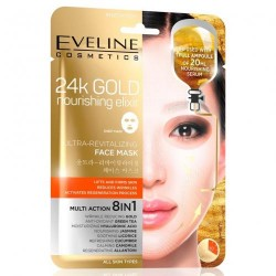 Eveline 24K GOLD// Nourishing elixir face mask// 8in1 Multi Action