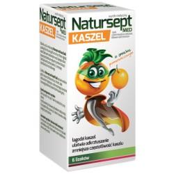 NATURSEPT med// LIZAKI na kaszel o smaku pomaranczowym