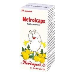 NEFROLCAPS // Suplement diety, Prawidlowe funkcjonowanie drog moczowych //  30 kapsulek