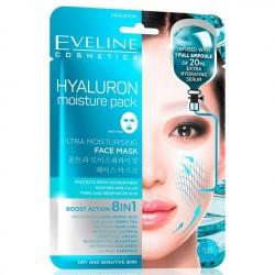 Eveline HYALURON moisture pack//Ultra moisturising// 8in1 Boost Action