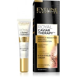 Eveline ROYAL CAVIAR THERAPY // Luxury Tightening Eye&Eyelid Cream